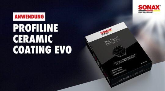 Anwendung SONAX PROFILINE Ceramic Coating CC Evo